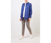 Jacke mit R-Neck Blau