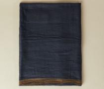 Cashmere-Schal Blau/Beige - Cashmere