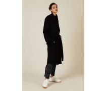 Woll-Cashmere Mantel 'New Lima' Schwarz - Cashmere