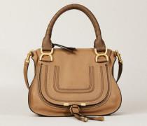 Handtasche 'Marcie Small' Nut - Leder