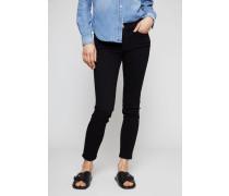 Skinny Jeans 'Le Color Crop' Schwarz