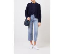 Feinstrick Cashmere-Pullover 'Ivastone' Marineblau