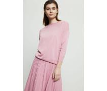 Seiden-Cashmere Pullover Rosé - Cashmere