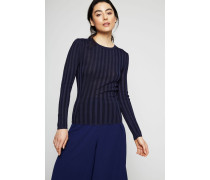 Leichter Pullover Marineblau