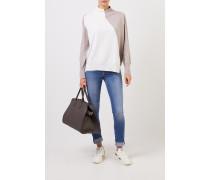 Woll-Cashmere-Pullover Crème/Beige