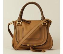 Handtasche 'Marcie Medium' Braun - Leder