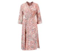 Wickelkleid aus Seide mit Paisley Print Multi