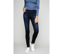 Super Skinny Jeans 'The Legging' Blau - Leder