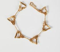 Armband 'Hearts' Gold