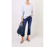 Cashmere Pullover Hellblau