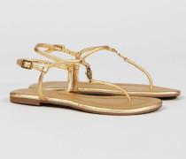 Sandale 'Emmy' Gold - Leder