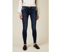 Jeans 'The Skinny Slim Illusion Lovesong' Mittelblau