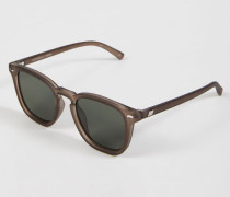 Sonnenbrille 'No Biggie' Matte Pebble/Khaki