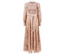Maxi-Kleid 'Freja' aus Baumwolle mit Paisley Print Multi