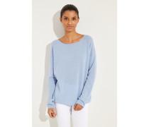 Oversize Cashmere-Pullover 'Cayo' Blau