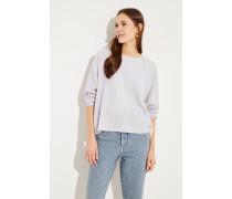 Cashmere-Pullover Grau