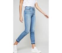 Highwaist Skinny-Jeans Hellblau