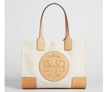 Handtasche ''Ella Canvas Mini' Natural/Ivory