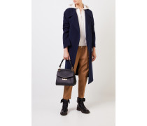 Baumwoll-Jacke mit Kapuze Beige