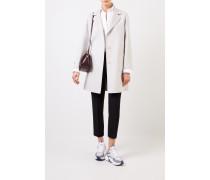 Klassischer Cashmere-Mantel Grau