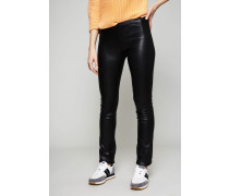 Lederleggings 'New Legging' Schwarz