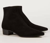 Ankle Boots 'Ambra' Schwarz - Leder