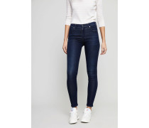 High Rise Skinny Jeans 'Rocket' Marineblau
