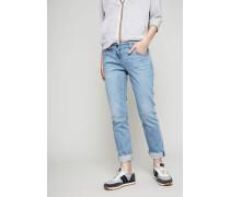 Straight Leg Jeans Hellblau