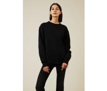 Sweatshirt 'Fairview Face' Schwarz - 100% Baumwolle