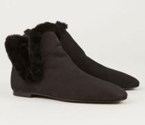 Ankle Boots 'Eros' Schwarz - Leder