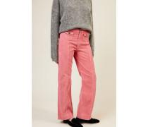 Cord-Hose Pink - 100% Baumwolle