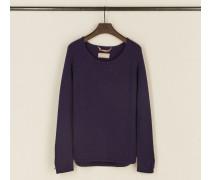 Cashmere-Pullover 'Cyra' Violett - Cashmere