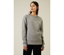 Sweatshirt 'Fairview Face' Light Grey Melange - 100% Baumwolle