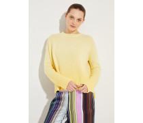 Cashmere Pullover 'Constanza' Gelb