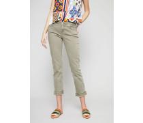 Modern Rise Jeans 'Liu Short' Khaki
