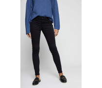 Super Skinny Jeans 'The Legging Ankle' Schwarz - Leder
