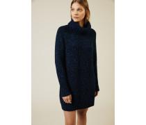 Cashmere-Kleid 'Nevis' Blau meliert