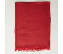 Cashmere-Seiden-Schal Rot - Cashmere