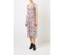 Plissiertes Kleid 'Pleated Georgette' Multi
