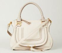Handtasche 'Marcie Medium' Abstract White - Leder