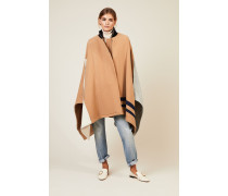 Woll-Cape Beige