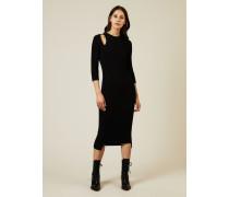 Midi-Kleid 'Norma' Schwarz