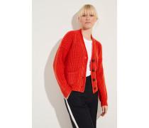 Cashmere-Cardigan 'Maxine' Rot