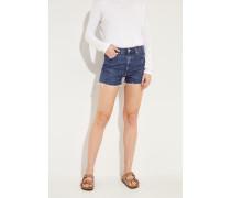 Shorts 'Kristen High Rise Short' Blau