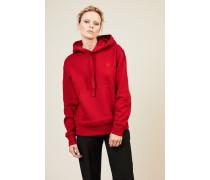 Sweatshirt 'Farris Face' Rot - 100% Baumwolle