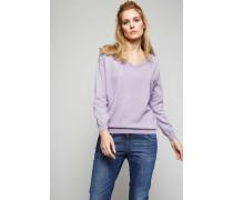 Cashmere-Pullover Purple - Cashmere