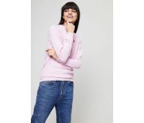 Wollpullover 'Ava Crew Neck' Light Pink