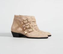 Ankle Boots 'Susanna' Hellrosé - Leder