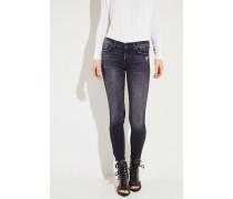Skinny Jeans 'The Skinny Crop' Anthrazit