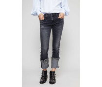 Jeans 'Kate Skinny W Cuff' Orion Black